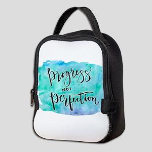 Progress not Perfection Neoprene Lunch Bag