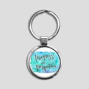 Progress not Perfection Keychains