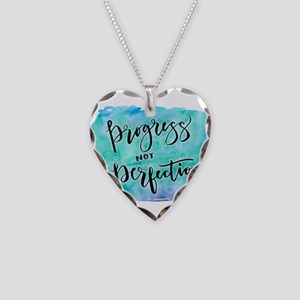 Progress not Perfection Necklace