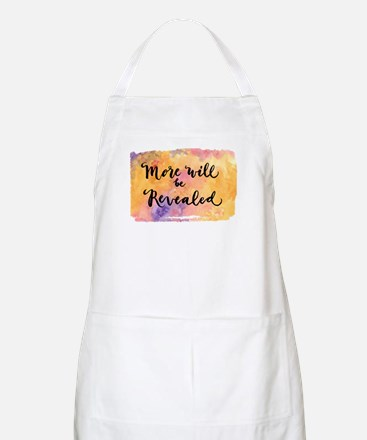 More Will be Revealed Apron