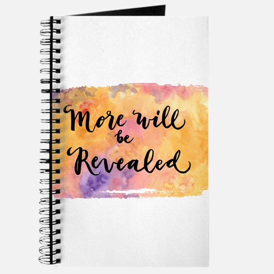 More Will be Revealed Journal