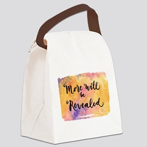 More Will be Revealed Canvas Lunch Bag