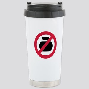 No curling Stainless Steel Travel Mug