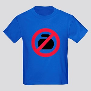 No curling Kids Dark T-Shirt