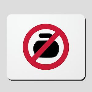 No curling Mousepad