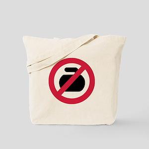 No curling Tote Bag