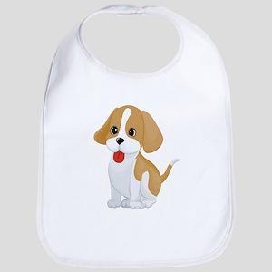 Cute dog cartoon Bib
