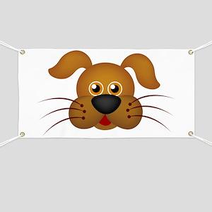 Cat head art Banner