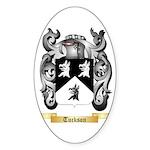 Tuckson Sticker (Oval 10 pk)