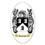Tuckson Sticker (Oval 50 pk)