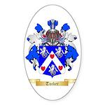 Tucker Sticker (Oval 50 pk)