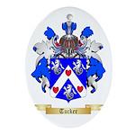 Tucker Oval Ornament