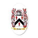 Tubbs Oval Car Magnet