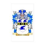 Tschirschke Sticker (Rectangle 50 pk)