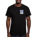 Tschierse Men's Fitted T-Shirt (dark)