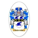 Tschierschke Sticker (Oval 10 pk)