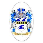 Tschierschke Sticker (Oval 50 pk)
