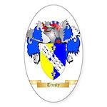 Trusty Sticker (Oval 50 pk)