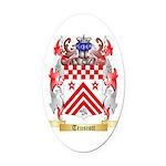 Truscott Oval Car Magnet