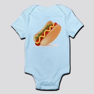 Hotdog Fast Food art Body Suit