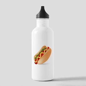 Hotdog Fast Food art Stainless Water Bottle 1.0L
