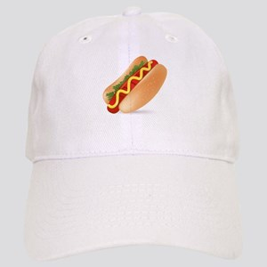 Hotdog Fast Food art Cap