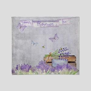 Summer-Provence - Love Throw Blanket