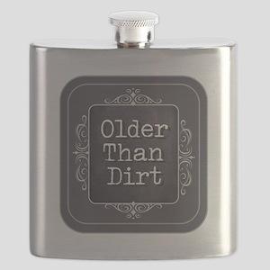 Older than Dirt Flask