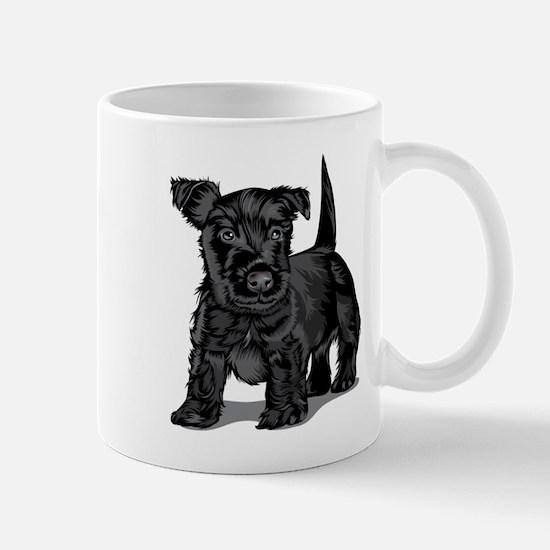 Cute Schnoodle dog Mugs