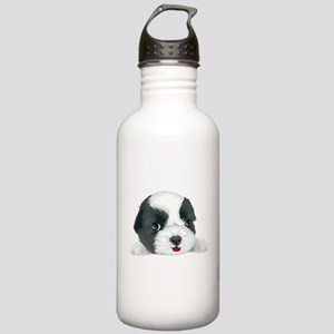Bolognese dog Stainless Water Bottle 1.0L