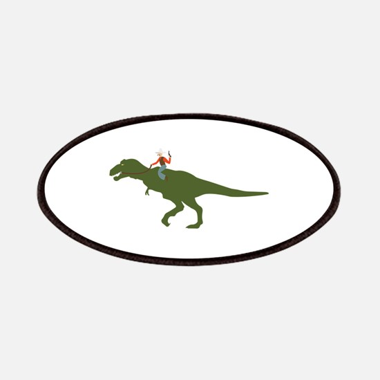 Dinosaur Cowboy Patch