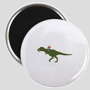 Dinosaur Cowboy Magnets