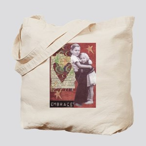 """""""Embrace"""" / """"Measure of a Man"""" Tote Bag"""