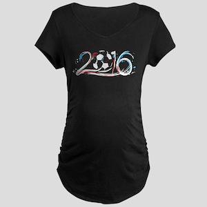 France 2016 Soccer Maternity T-Shirt