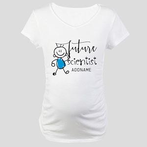 Future Scientist Personalized Maternity T-Shirt
