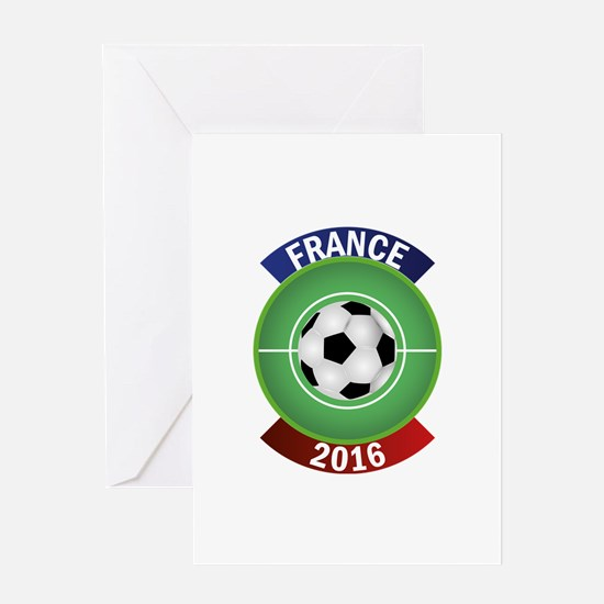 France 2016 Soccer Greeting Card
