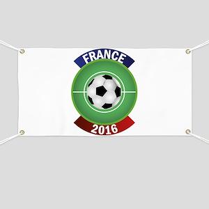 France 2016 Soccer Banner
