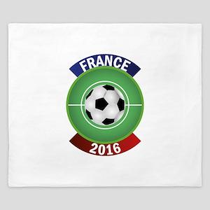France 2016 Soccer King Duvet