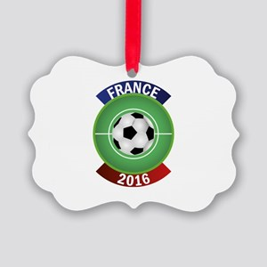 France 2016 Soccer Picture Ornament