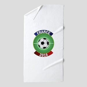 France 2016 Soccer Beach Towel
