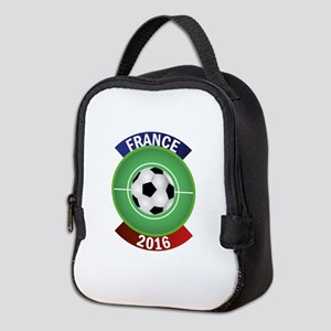 France 2016 Soccer Neoprene Lunch Bag