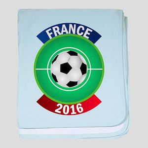 France 2016 Soccer baby blanket