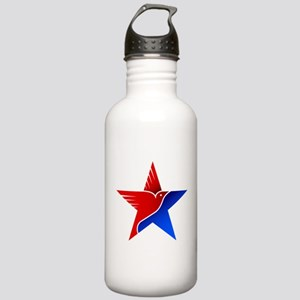 Amrical flag eagle amr Stainless Water Bottle 1.0L