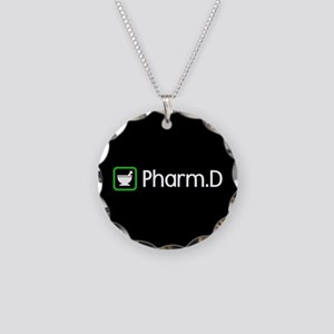 Pharm.D (Green) Necklace Circle Charm