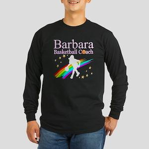 BASKETBALL COACH Long Sleeve Dark T-Shirt