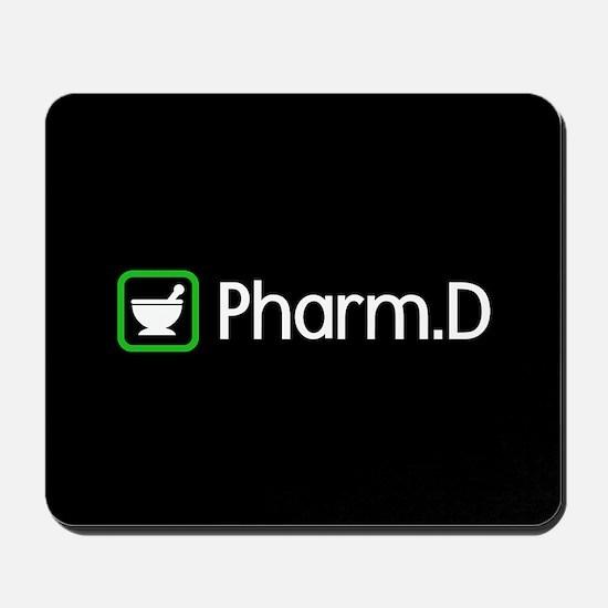 Pharm.D (Green) Mousepad