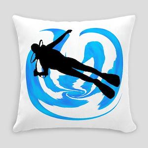 SCUBA Everyday Pillow