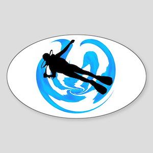 SCUBA Sticker