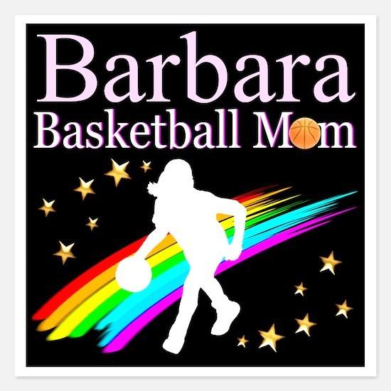 BASKETBALL MOM Invitations