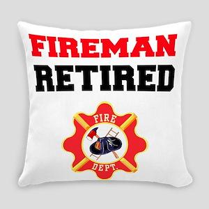 Fireman Retired Everyday Pillow